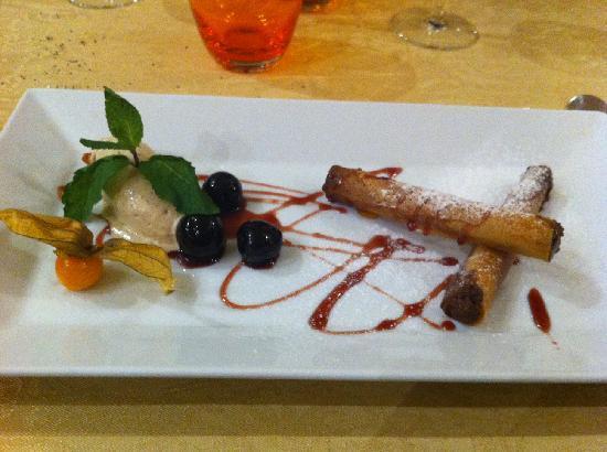 Hotel de Diane: dessert