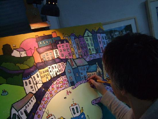 Helen Elliott Art: see work in progress
