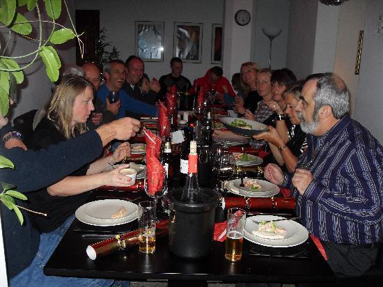 Hotel La Casa : Christmas dinner