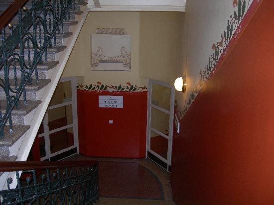 Solo Sokos Hotel Torni: ホテルの階段も素敵