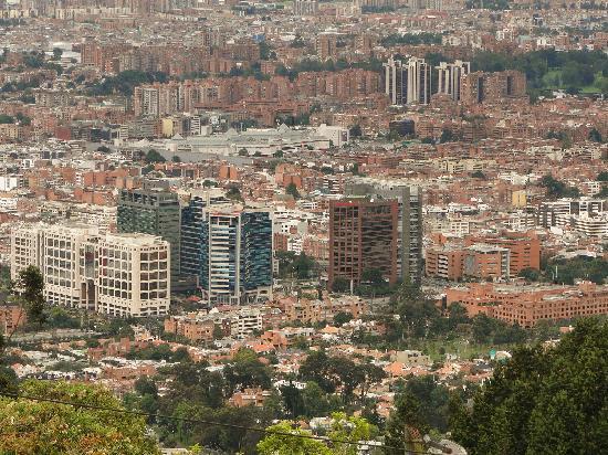 Kolombiya: Bogotá...cosmopolita y moderna.