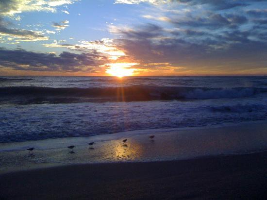 Tropical Winds Motel & Cottages: And then there are the sunsets,