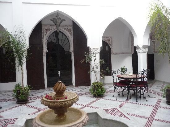 Riad Nasreen : Le patio