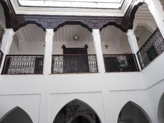Riad Nasreen : une vue d'en bas