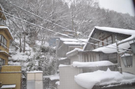 Senshinkan Matsuya: 部屋の窓から見た景色
