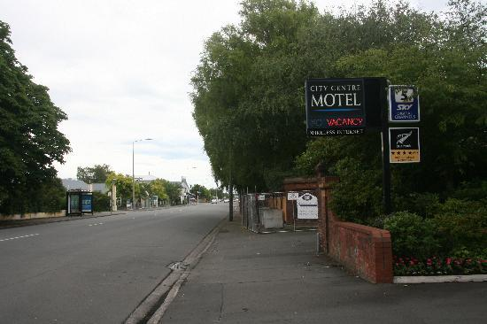 City Centre Motel: Outside the motel