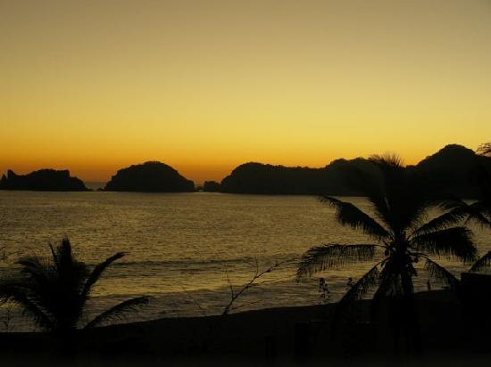 San Patricio, Mexico: Sunset form our room