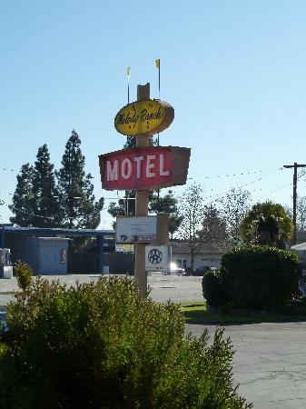 Melody Ranch Motel: Hotel sign
