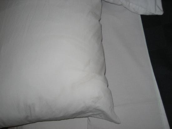 Maingate Lakeside Resort: Filthy pillow.  This place is a dump!