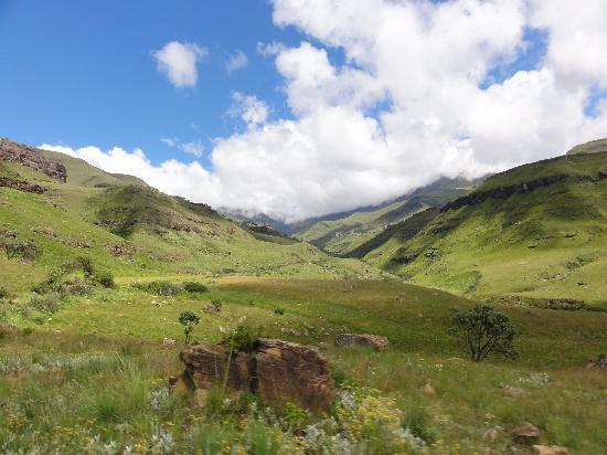 Arbuckle House: At the base of the Sani Pass route