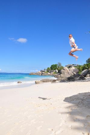 Pulau Mahe, Seychelles: on the beach