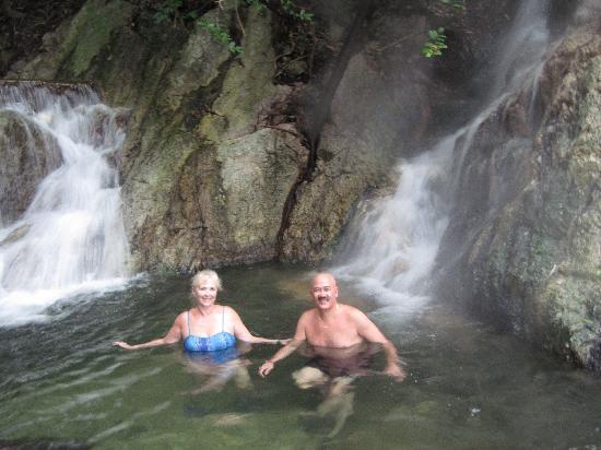 Palma Real Beach Resort & Villas: Soothing thermal bath in Sambo Creek