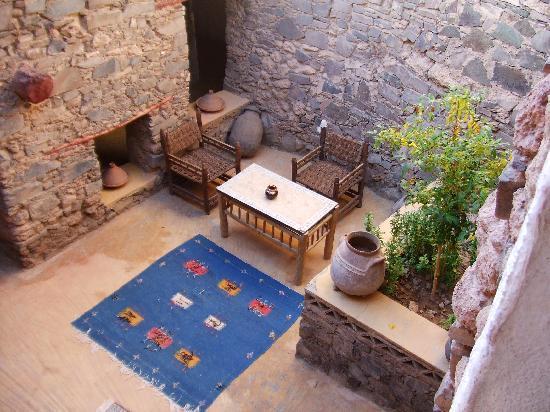 Dar Infiane: kleiner Innenhof, romantik pur