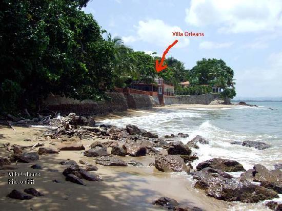 Villa Orleans: Beachfront villa