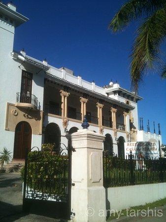 Bienvenidos picture of restaurante casa de espana san for Restaurante puerto rico madrid