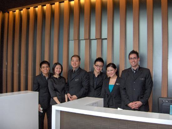Front Desk Staff Picture Of The Quincy Hotel By Far East