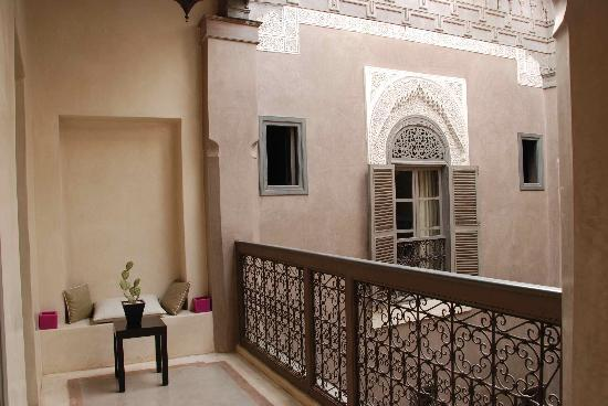 Riad Dar One : Outside our room