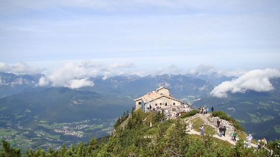 Obersalzberg: View from above Kehlsteinhaus (Eagles Nest)