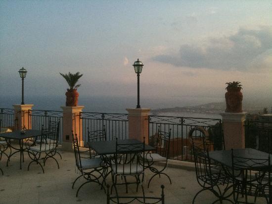 Roof top terrace Casa Turchetti, Taormina