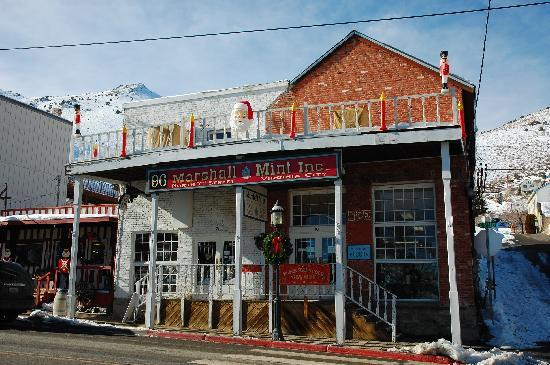 Virginia City, NV: One of the many mint shops