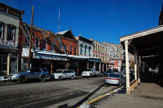 Virginia City, NV: View of the main street during the day