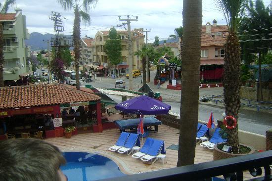 Club Meridmar Apart: view from balcony