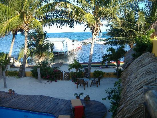 Seaside Cabanas: view from room