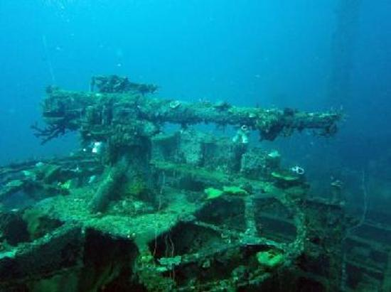 San Francisco Maru Bow Wreck Diving The Mysterious Ghost