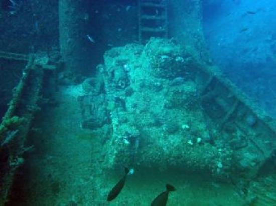 Tank on the Nippo Maru
