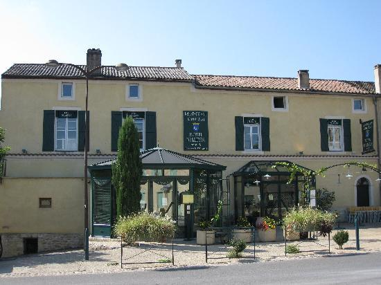 Puy-l'Eveque, France: the hotel