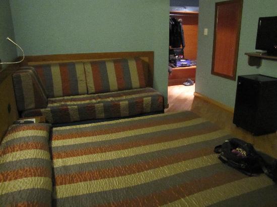 Zurigo Hotel: stanza molto spaziosa