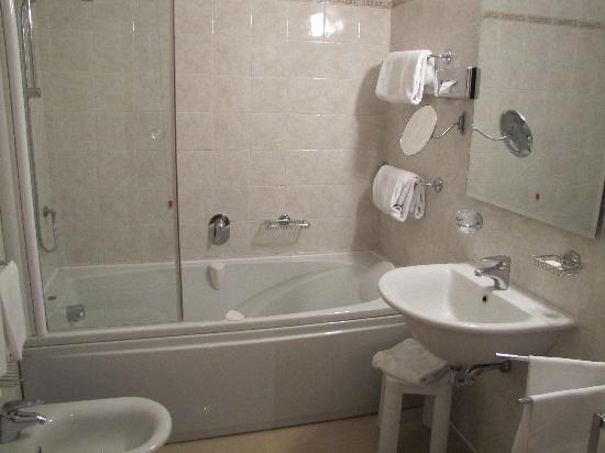 Zurigo Hotel: bagno