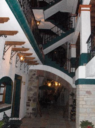 Meson Del Rosario: Hotel.