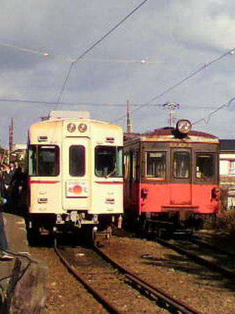 Choshi, Japan: 京王線車両とデハ801