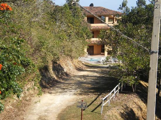 Las Palmas Inn: A view to the Inn