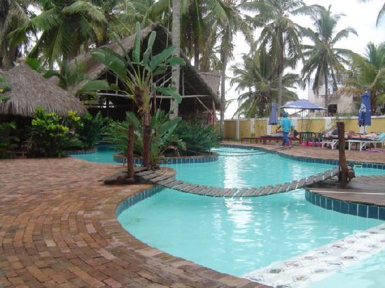 Inhambane Province, Mozambik: Pool area