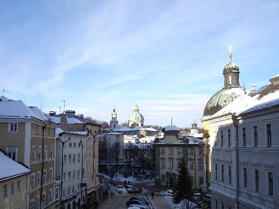 Gasthaus Hinterbrühl: Ausblick vom Zimmer