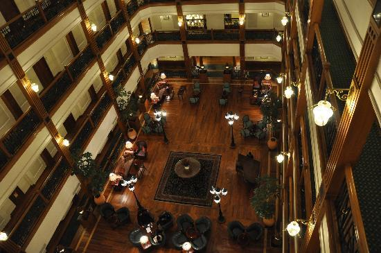 The Oberoi Cecil, Shimla: View of the hotel lobby