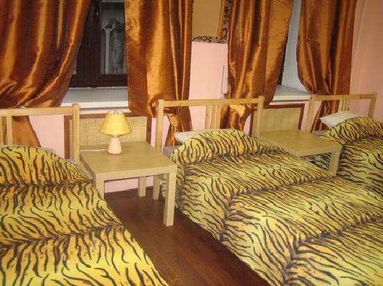 Hostel Orange at Basmannaya : Quadruple room