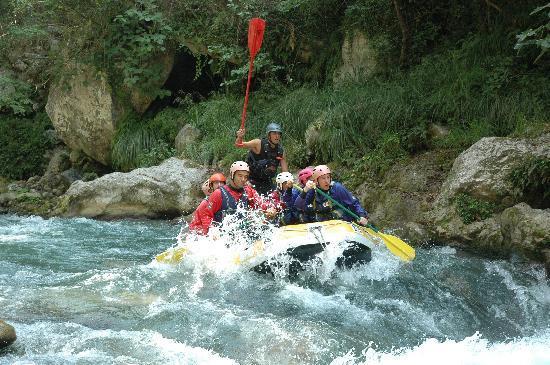 Scalea, Italy: raftin fiume lao