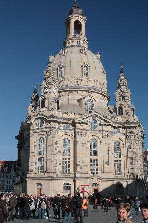 Dresde, Allemagne : Die Frauenkirche