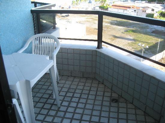 Maceio Atlantic Suites: Balkon