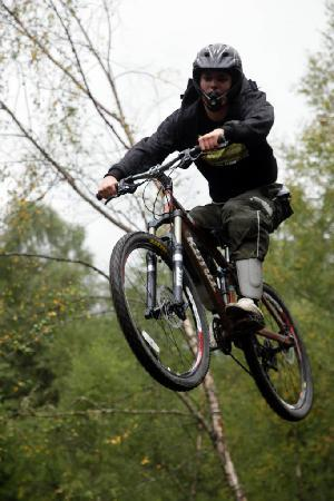 Purple Mountain Bike Hire Centre: Jumps & drops