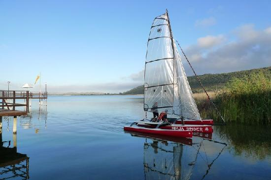 Pine Lake Marina: Sail on the Swartvlei Lake