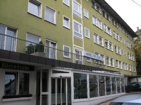 Pflieger Hotel Stuttgart: Eingangsbereich