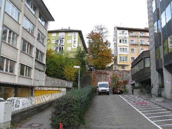 Pflieger Hotel Stuttgart: Hotelansicht