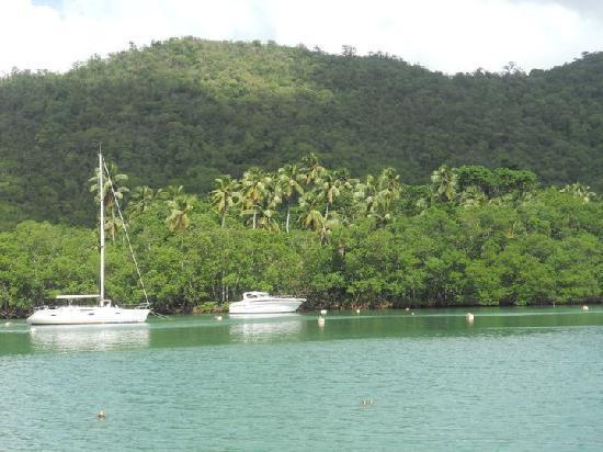 bahía de Marigot, Sta. Lucía: Marigot Bay, Saint Lucia