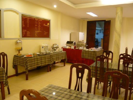 Hanoi Fortune Hotel: Restaurant