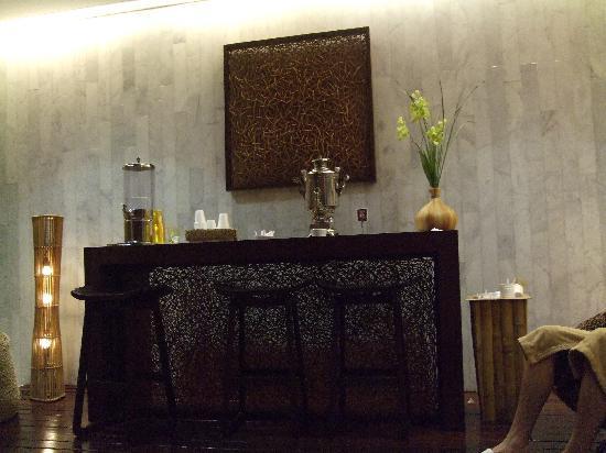 Iberostar Anthelia: Sala de relax en el Spa. (Té barra libre)