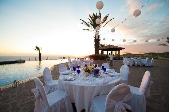 Pueblo Bonito Sunset Beach Golf Spa Resort Reception Set Up Sky Pool
